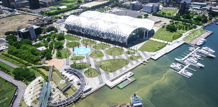 Kaohsiung Exhibition Center and Xinguang Park