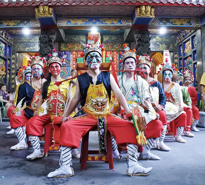 Diyue Temple's Ji Sheng Troupe