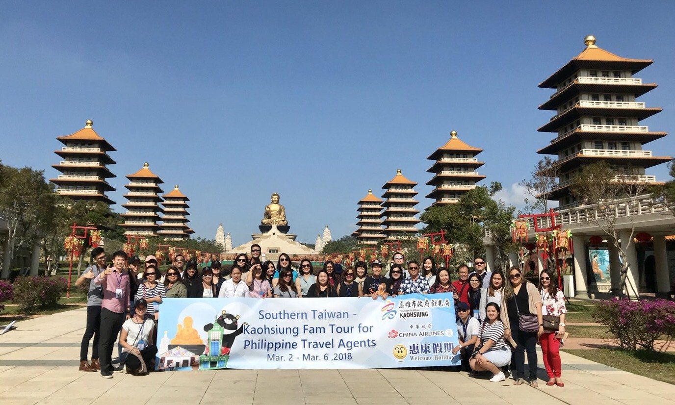 "Kaohsiung promotes tourism in ""southbound"" markets; Philippine travel agent..."