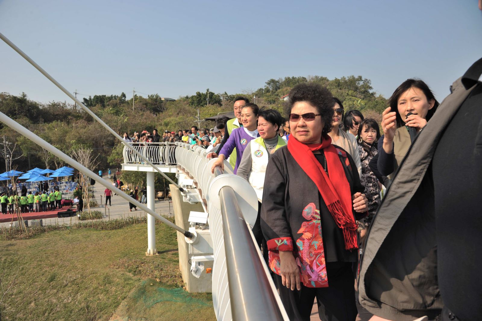 Siaogangshan Skywalk Park opens now