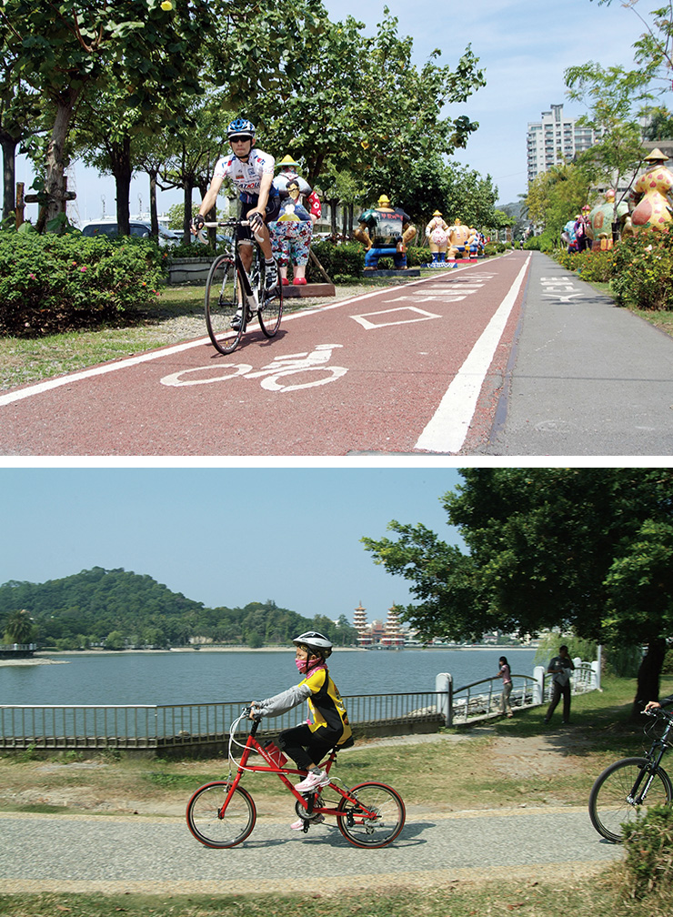 Kaohsiung's Bike Paths