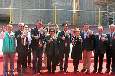 May 9, 2015 Taroko Park beam-raising ceremony
