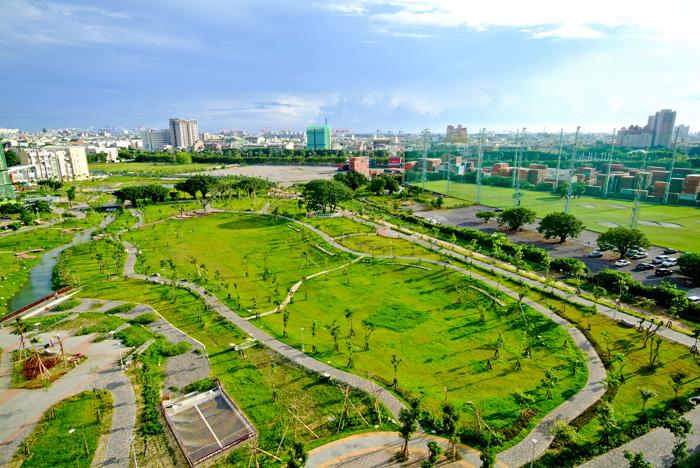 Wujia Park in Fengshan
