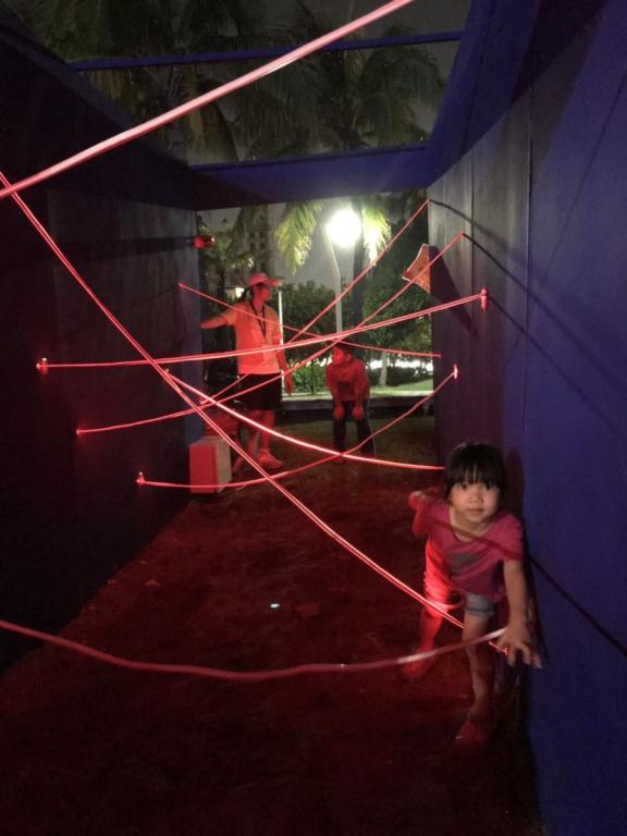 LED maze game