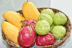 Kaohsiung has abundant tropical fruits