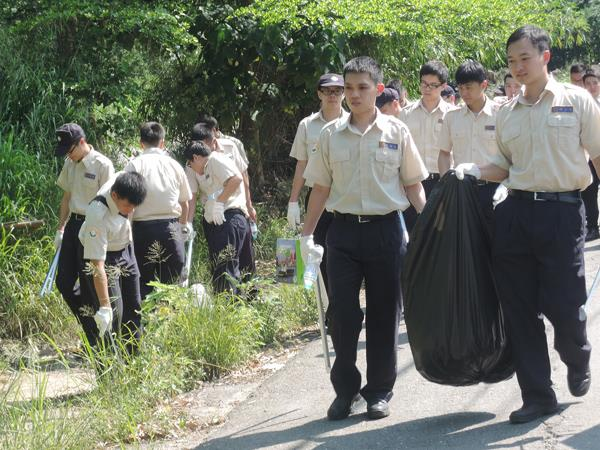 Guanyinshan Cleaning Charity events for substitute service draftees