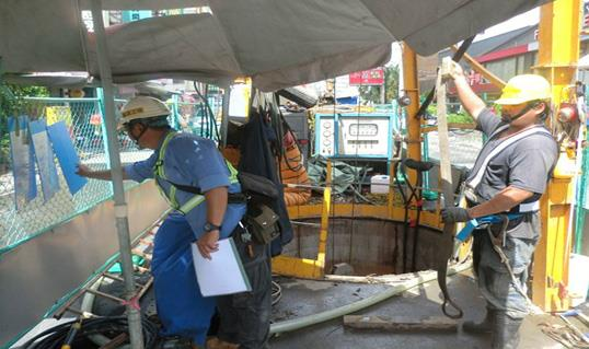 The Bureau conducts comprehensive inspections on the confined operation of manholes.