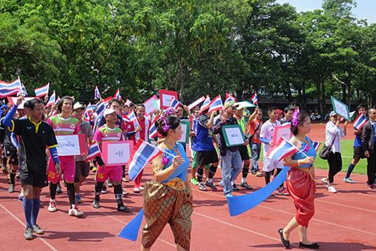 The Bureau jointly held Thailand Sports Culture Carnival with Thailand Trade and Economic Office in National Kangshan Agricultural.